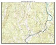 Putney 1984 - Custom USGS Old Topo Map - Vermont