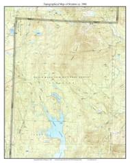 Stratton 1986 - Custom USGS Old Topo Map - Vermont