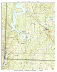 Whitingham 1987 - Custom USGS Old Topo Map - Vermont