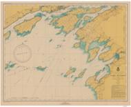 Clayton to Stony Point 1946 Lake Ontario Harbor Chart Reprint 21