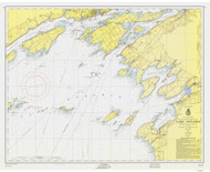 Clayton to Stony Point 1956 Lake Ontario Harbor Chart Reprint 21