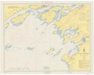 Clayton to Stony Point 1966 Lake Ontario Harbor Chart Reprint 21