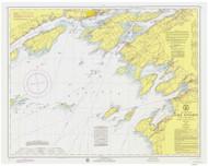 Clayton to Stony Point 1974 Lake Ontario Harbor Chart Reprint 21