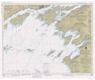 Clayton to Stony Point 1984 Lake Ontario Harbor Chart Reprint 21