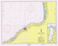 Six Miles South of Stony Point to Port Bay 1956 Lake Ontario Harbor Chart Reprint 22