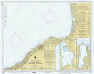 Six Miles South of Stony Point to Port Bay 1978 Lake Ontario Harbor Chart Reprint 22