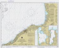 Six Miles South of Stony Point to Port Bay 1984 Lake Ontario Harbor Chart Reprint 22