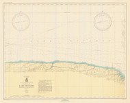 Braddock Point to Thirty Mile Point 1946 Lake Ontario Harbor Chart Reprint 24