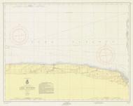 Braddock Point to Thirty Mile Point 1956 Lake Ontario Harbor Chart Reprint 24