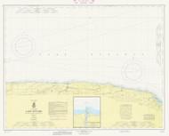 Braddock Point to Thirty Mile Point 1966 Lake Ontario Harbor Chart Reprint 24