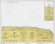 Braddock Point to Thirty Mile Point 1978 Lake Ontario Harbor Chart Reprint 24