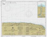 Braddock Point to Thirty Mile Point 1985 Lake Ontario Harbor Chart Reprint 24