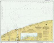 Thirty Mile Point to Port Dalhousie 1978 Lake Ontario Harbor Chart Reprint 25