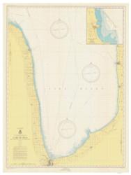 Port Huron to Pte. Aux Barques 1946 Lake Huron Harbor Chart Reprint 51