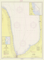 Port Huron to Pte. Aux Barques 1964 Lake Huron Harbor Chart Reprint 51