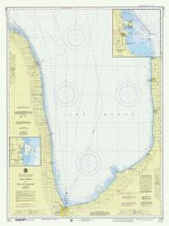 Port Huron to Pte. Aux Barques 1976 Lake Huron Harbor Chart Reprint 51