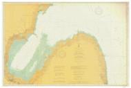 Saginaw Bay 1906 Lake Huron Harbor Chart Reprint 52