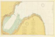 Saginaw Bay 1912 Lake Huron Harbor Chart Reprint 52