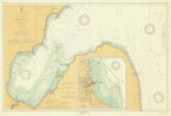 Saginaw Bay 1919 Lake Huron Harbor Chart Reprint 52