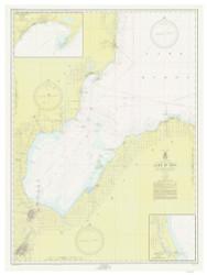 Saginaw Bay 1952 Lake Huron Harbor Chart Reprint 52