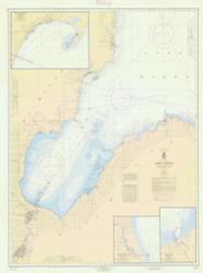 Saginaw Bay 1964 Lake Huron Harbor Chart Reprint 52