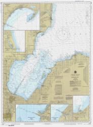 Saginaw Bay 1985 Lake Huron Harbor Chart Reprint 52