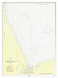 South End of Lake Huron 1954 Lake Huron Harbor Chart Reprint 511
