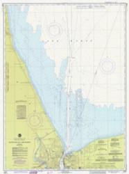 South End of Lake Huron 1977 Lake Huron Harbor Chart Reprint 511