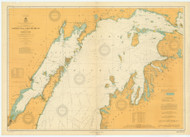 North End of Lake Michigan 1912 Lake Michigan Harbor Chart Reprint 70
