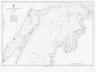 North End of Lake Michigan 1942 Lake Michigan Harbor Chart Reprint 70