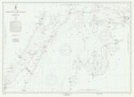 North End of Lake Michigan 1960 Lake Michigan Harbor Chart Reprint 70
