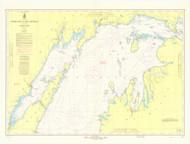 North End of Lake Michigan 1969 Lake Michigan Harbor Chart Reprint 70