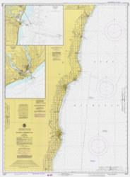 Algoma to Sheboygan 1979 Lake Michigan Harbor Chart Reprint 73