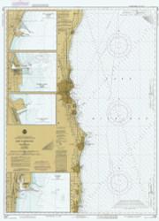 Port Washington to Waukegan 1985 Lake Michigan Harbor Chart Reprint 74