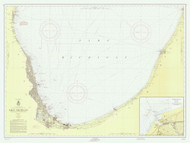 Waukegan to South Haven 1957 Lake Michigan Harbor Chart Reprint 75