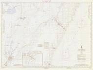 Algoma and Oconto 1966 Lake Michigan Harbor Chart Reprint 703