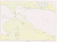 Straits of Mackinac 1958 Northwest Lake Huron Harbor Chart Reprint 6