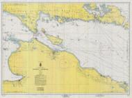 Straits of Mackinac 1960 Northwest Lake Huron Harbor Chart Reprint 6