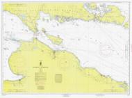 Straits of Mackinac 1964 Northwest Lake Huron Harbor Chart Reprint 6