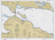 Straits of Mackinac 1981 Northwest Lake Huron Harbor Chart Reprint 6