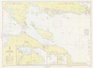 De Tour Passage to Waugoshance Point 1964 Northwest Lake Huron Harbor Chart Reprint 60