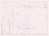 De Tour Passage to Waugoshance Point 1973 Northwest Lake Huron Harbor Chart Reprint 60