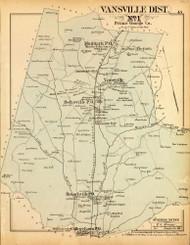 Vansville District No. 1 - Muirkirk, Beltsville, Branchville, Sunnyside Station, etc., Maryland 1879 Old Map Reprint - Prince George Co. (Montgomery MD Atlas)