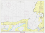 St Marys River to Au Sable Point 1967 Lake Superior Harbor Chart Reprint 92