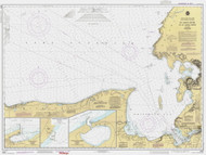 St Marys River to Au Sable Point 1990 Lake Superior Harbor Chart Reprint 92