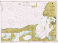 St Marys River to Au Sable Point 1997 Lake Superior Harbor Chart Reprint 92