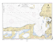 St Marys River to Au Sable Point 2004 Lake Superior Harbor Chart Reprint 92