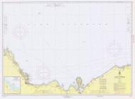 Grand Marais to Big Bay Point 1964 Lake Superior Harbor Chart Reprint 93