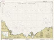Grand Marais to Big Bay Point 1990 Lake Superior Harbor Chart Reprint 93