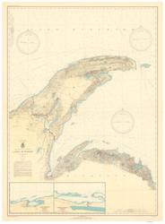 Big Bay Point to Redridge 1937 Lake Superior Harbor Chart Reprint 94